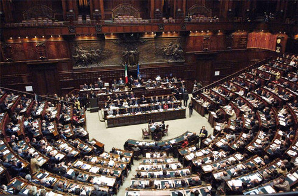 Tagli dei parlamentari: in aula va in scena il remake de 'Gli ultimi giorni di Pompei'
