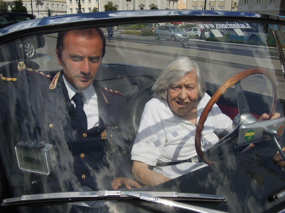 """Margherita Hack: """"Voglio continuare a guidare, anche a 90 anni"""""""