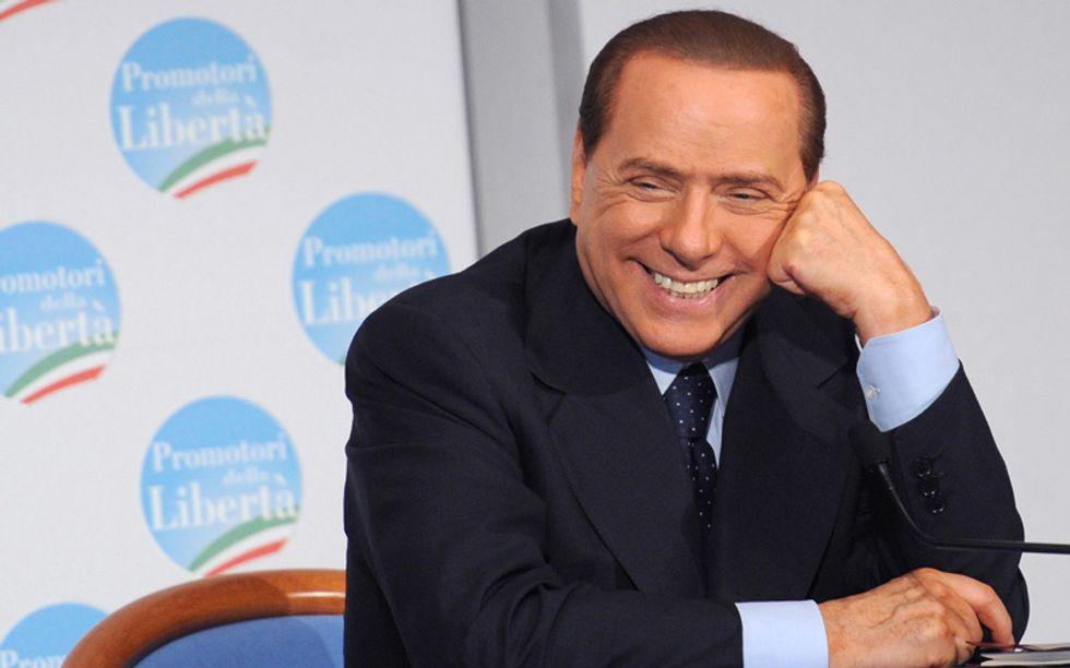 Il Berlusconi-pensiero su tasse, ripresa, Renzi e sinistra