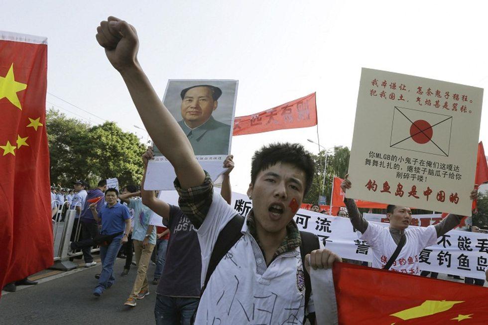 La furia anti-giapponese esplode in Cina
