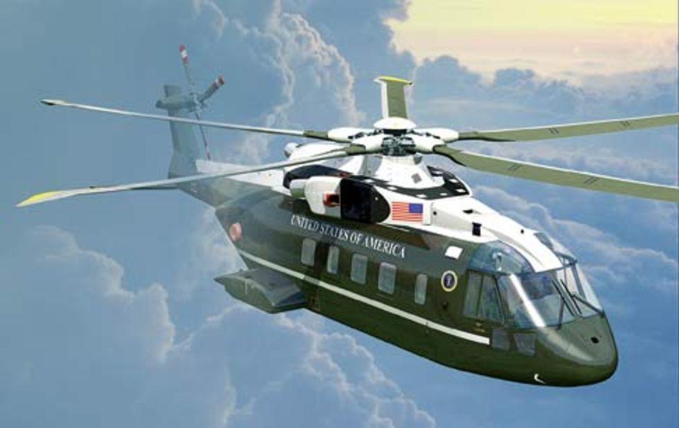 Pistole ed elicotteri italiani per gli Usa
