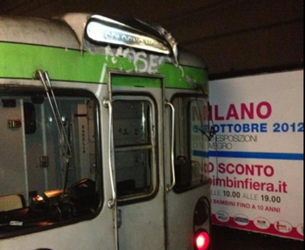 Milano: scontro in Metropolitana