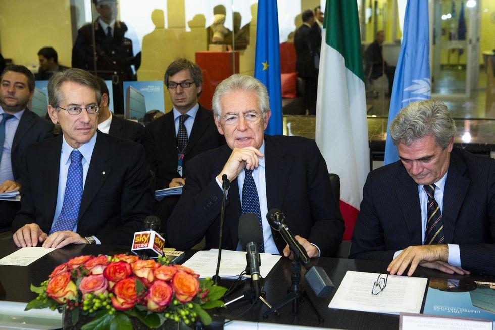 La Terza Repubblica parte da Monti
