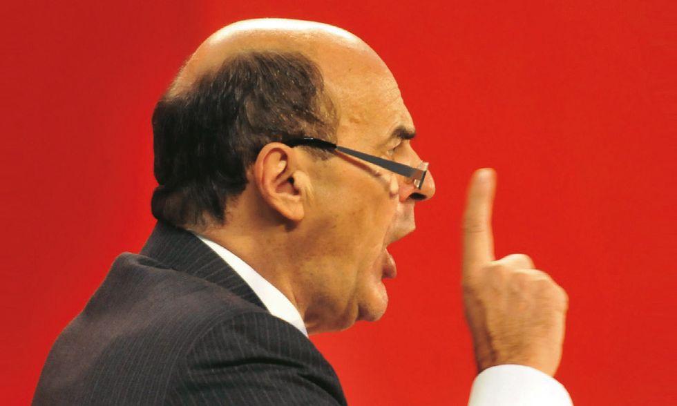 Bersani a Bindi e D'Alema: ma voi con chi state?