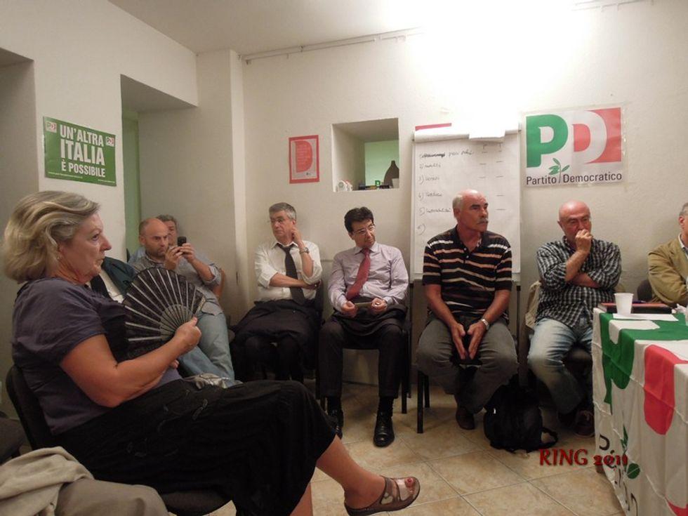 """La base Pd contro i consiglieri laziali: """"Via tutti"""""""
