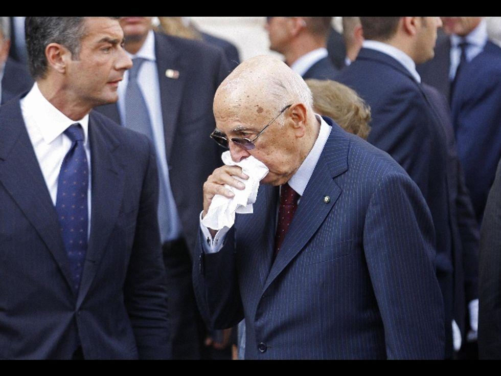 Ecco le lettere Napolitano-D'Ambrosio