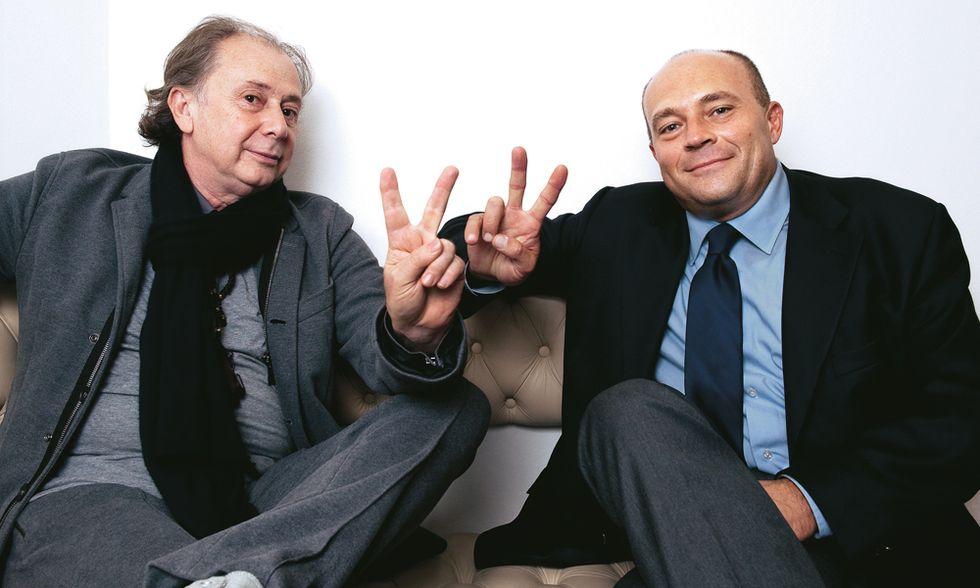 Lele Mora & Alfonso Papa: noi due, mostri da sbattere in galera