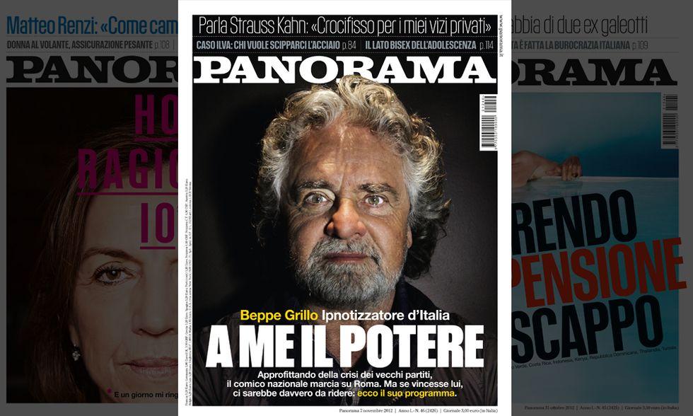 Panorama: Beppe Grillo: analisi (e previsioni) del fenomeno