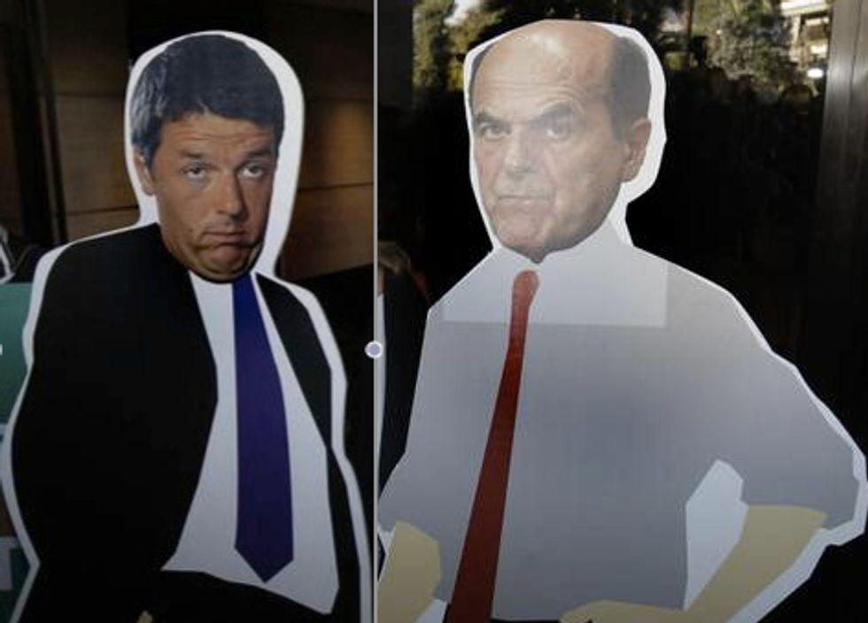 La sfida Renzi-Bersani vista da dentro i loro comitati