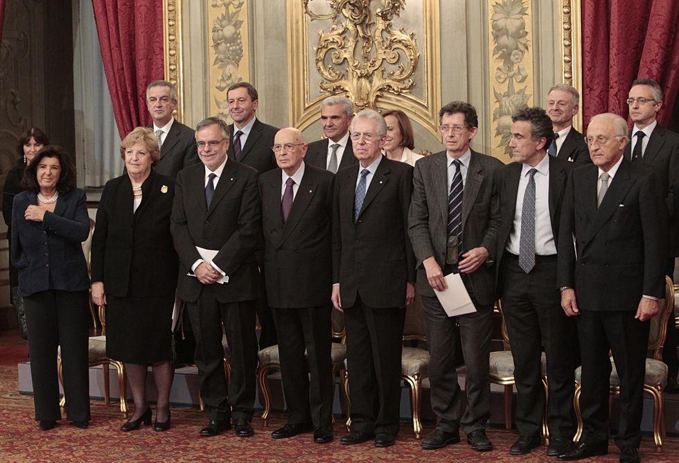 Un anno di Monti: l'analisi politica