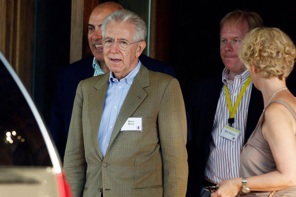 Un anno di governo Monti in numeri