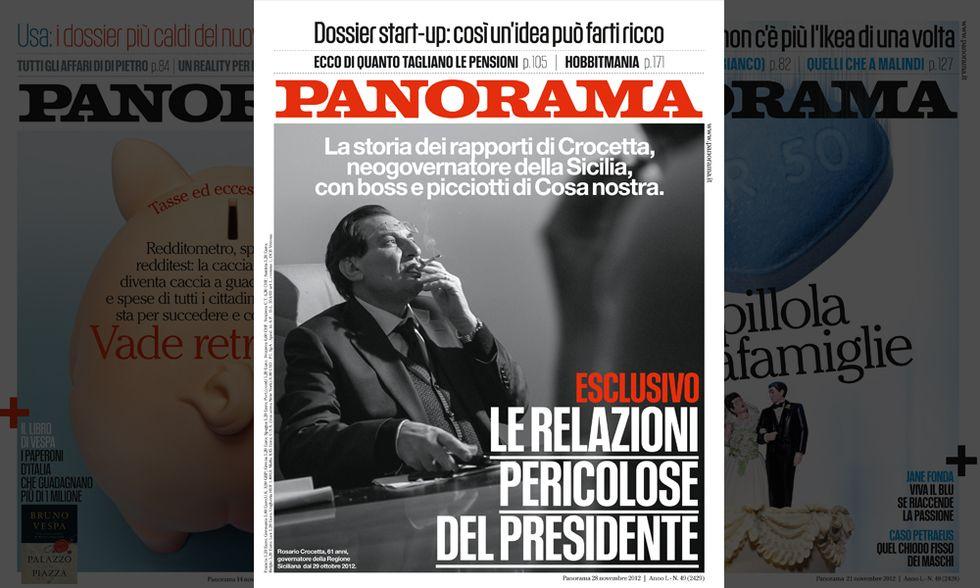 Panorama: le relazioni 'pericolose' di Crocetta
