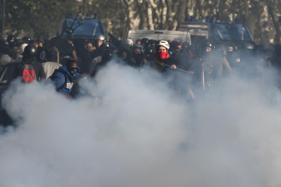 'Nessun lacrimogeno dal Ministero, anche se...'