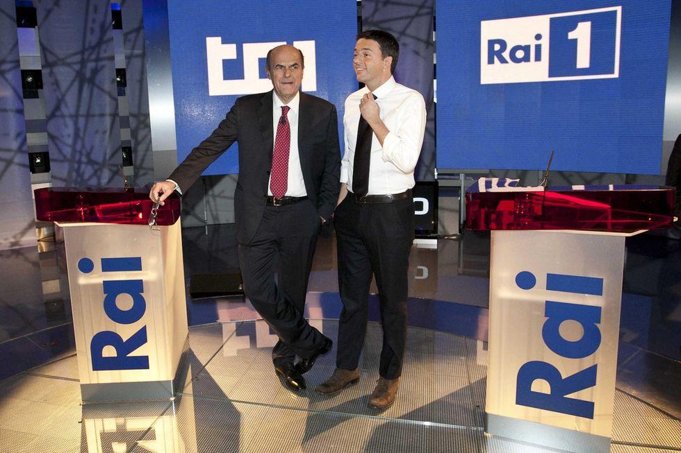 Dibattito: Renzi supera Bersani. Basterà?