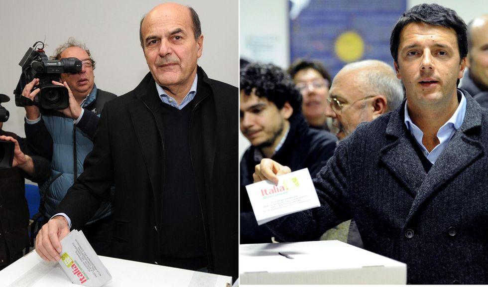 Bersani-Renzi, la mappa del voto