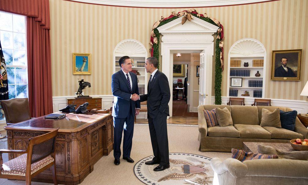 Obama/Romney: pranzo freddo alla Casa Bianca