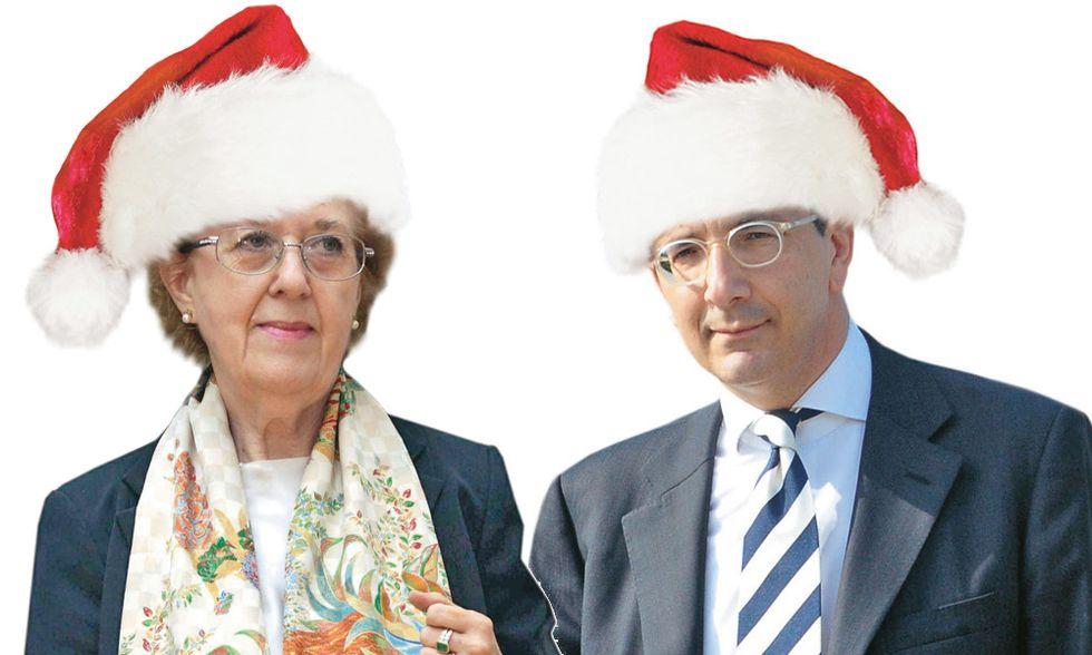 I doni? Fondi di magazzino. L'austerity natalizia della Rai