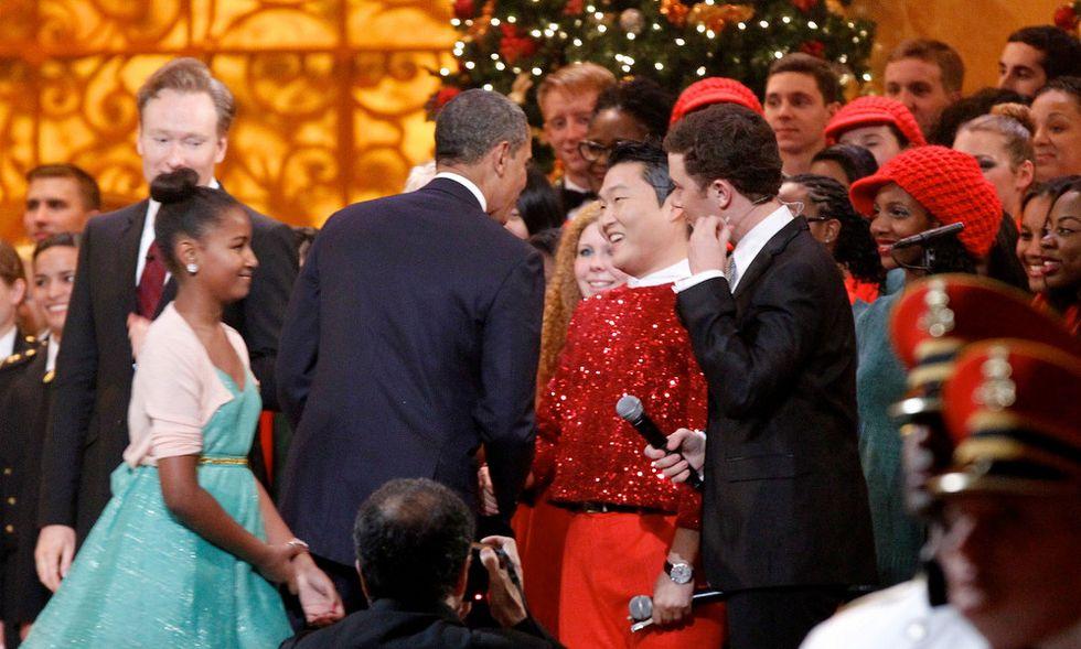 Obama non balla il Gangnam Style