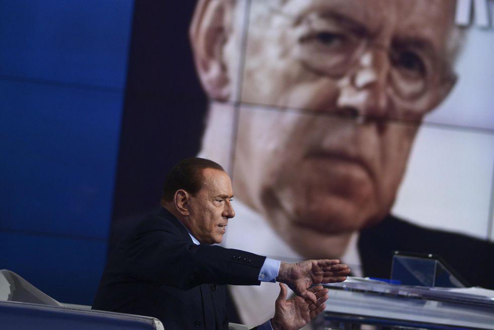 Ciclone Berlusconi sul piccolo schermo