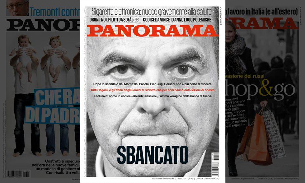 Mps: Bersani, 'sbancato'