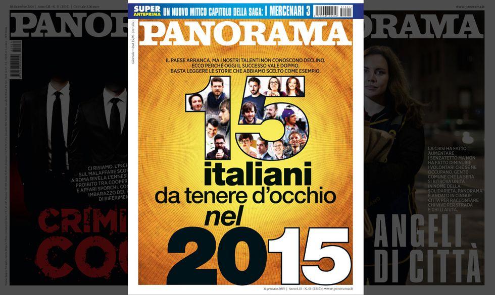 15 italiani da tenere d'occhio nel 2015