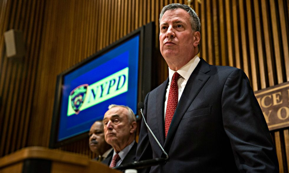 Perchè la polizia di New York è contro il sindaco De Blasio