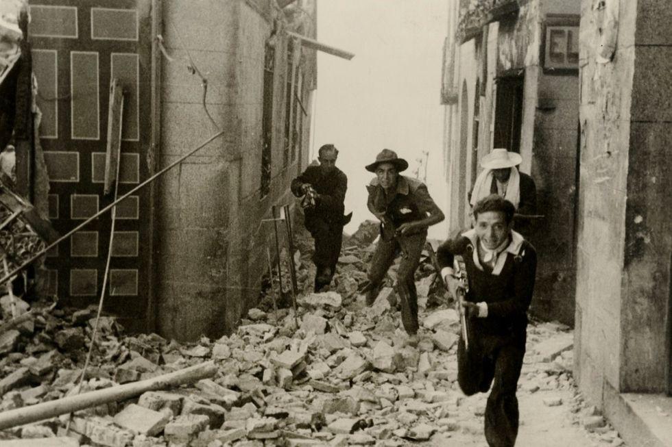 Le immagini di Madrid sotto assedio (1936-39) in mostra a Milano