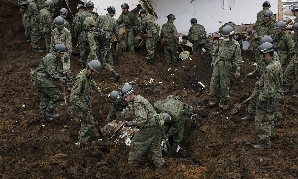 Terremoto nella Prefettura di Kumamoto, Giappone