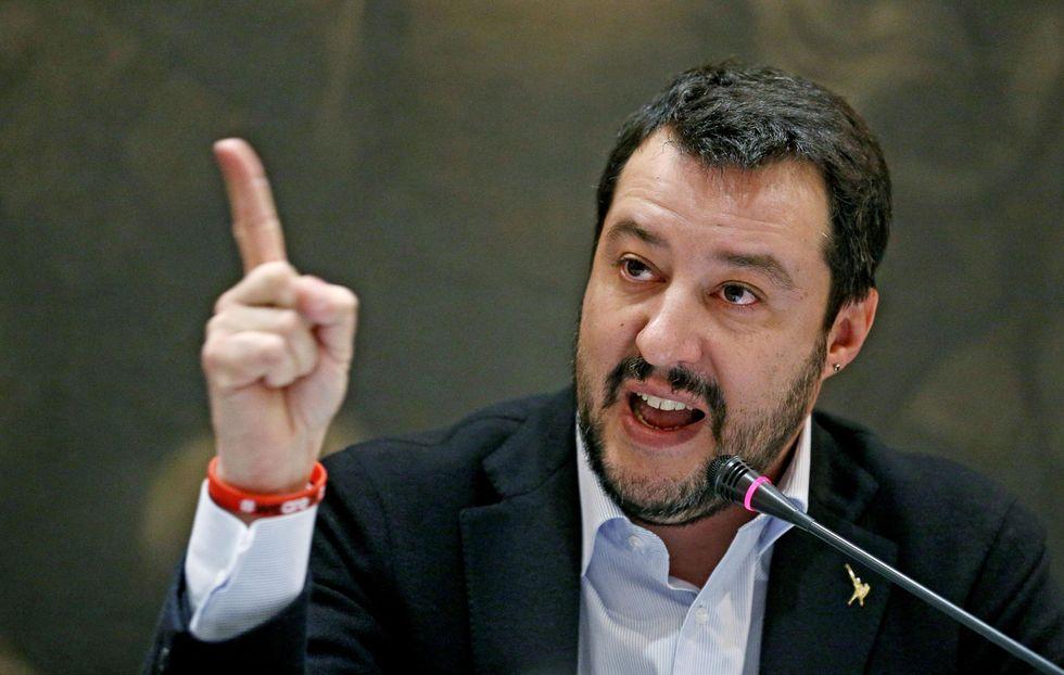 """Matteo Salvini: """"Un accordo tra la Lega e il Movimento 5 stelle? Impossibile"""""""