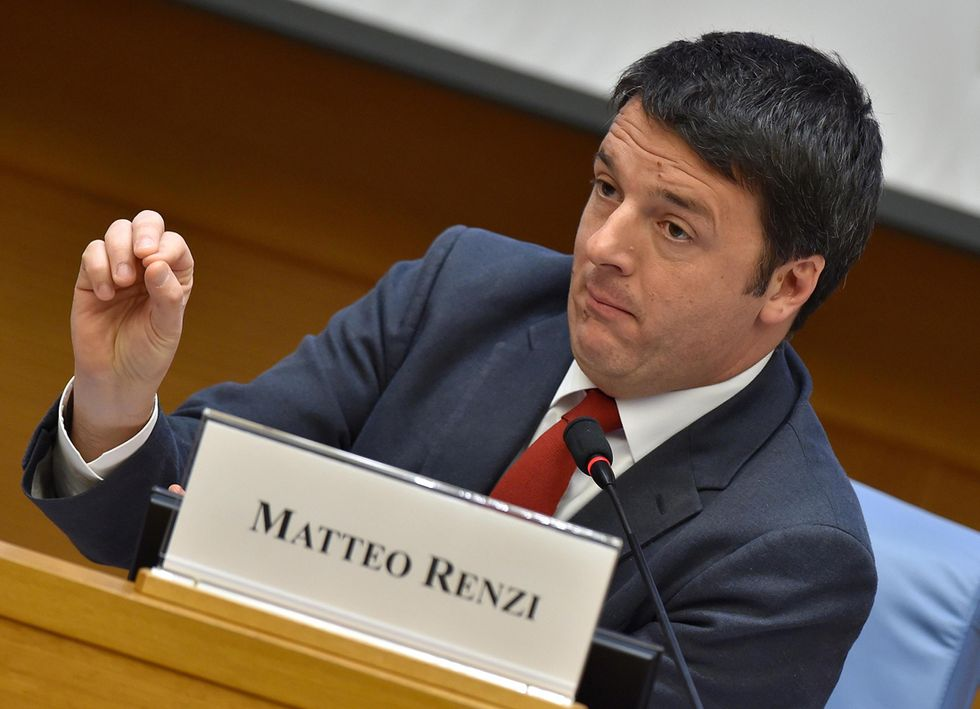 """Renzi: """"L'Italia ce la farà"""""""