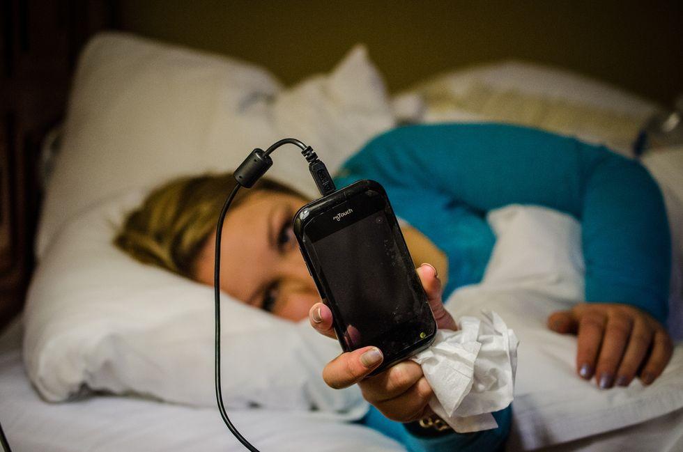 Il nostro smartphone ci ascolterà dormire