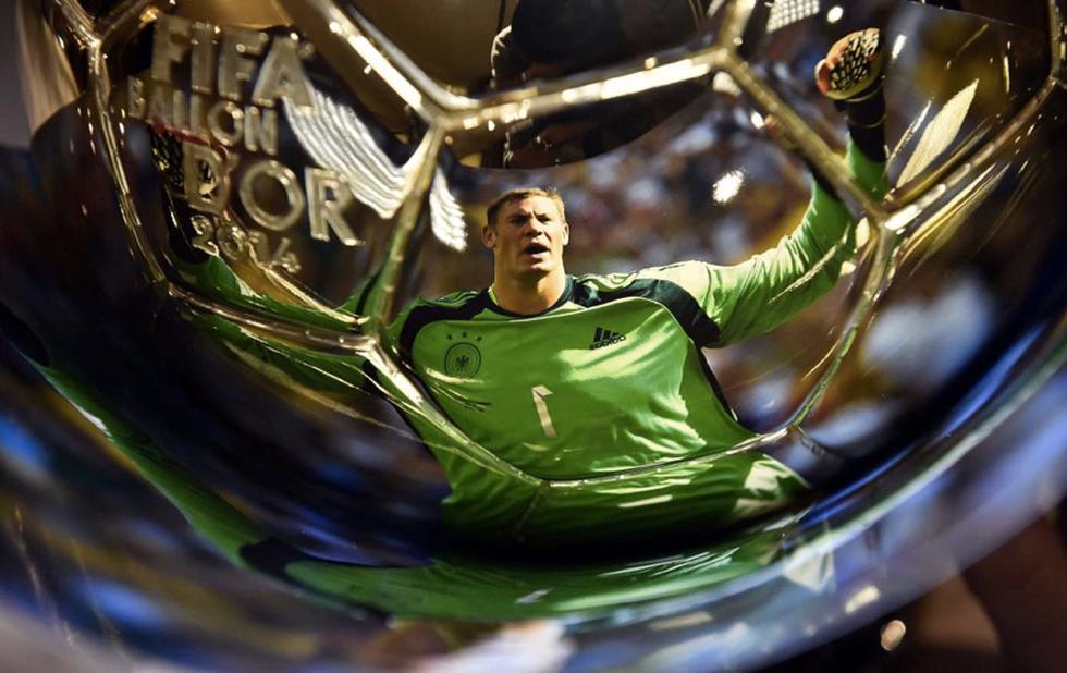 Manuel Neuer ha già vinto il pallone d'oro?