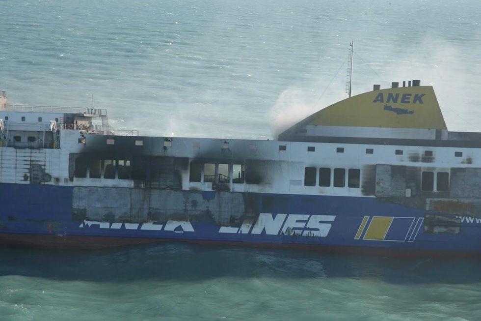Norman Atlantic: a bordo anche tanti clandestini