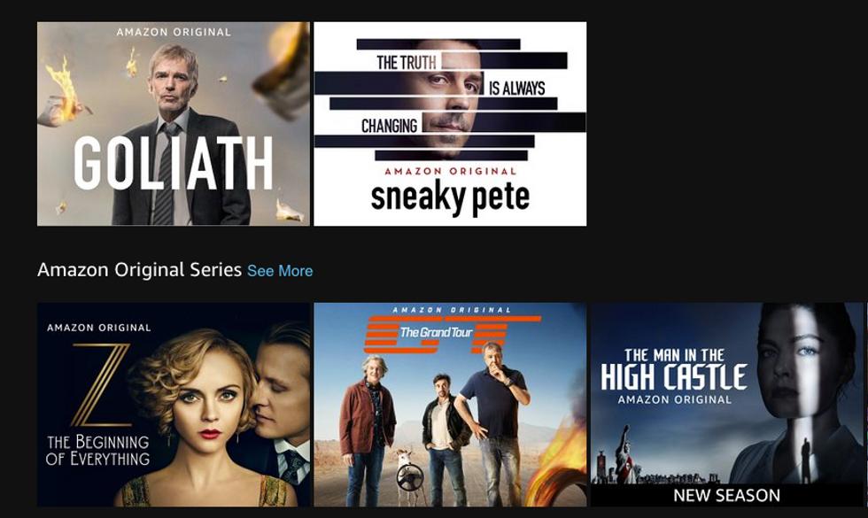 Amazon Prime Video: le 10 serie tv da non perdere