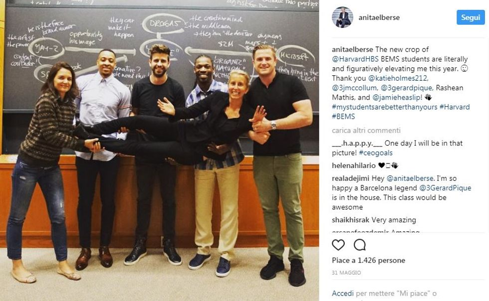 Ad Harvard celebrity a lezione di brand