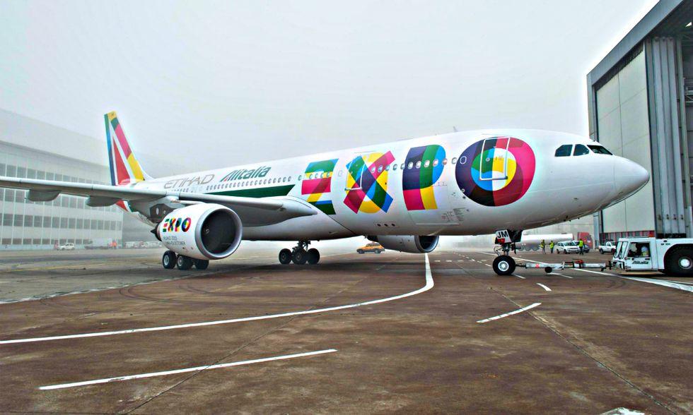 Così vola la nuova Alitalia-Etihad