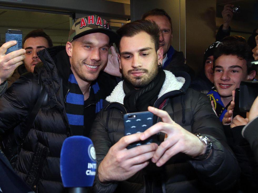 Ecco Podolski, il tedesco che accende l'Inter