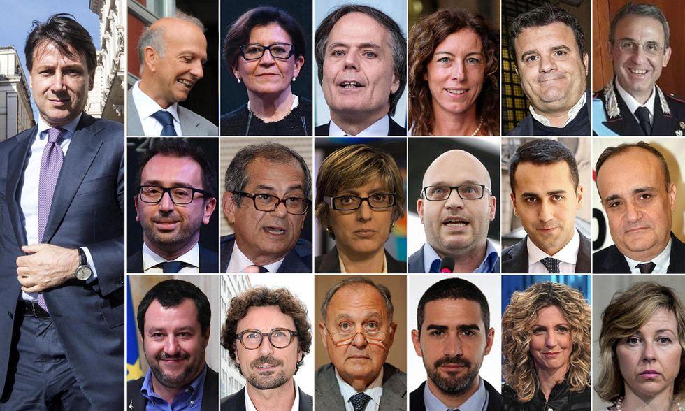 I ministri di Conte