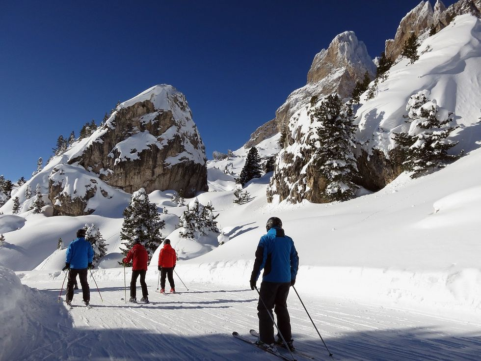 Dolomites: the perfect winter holiday