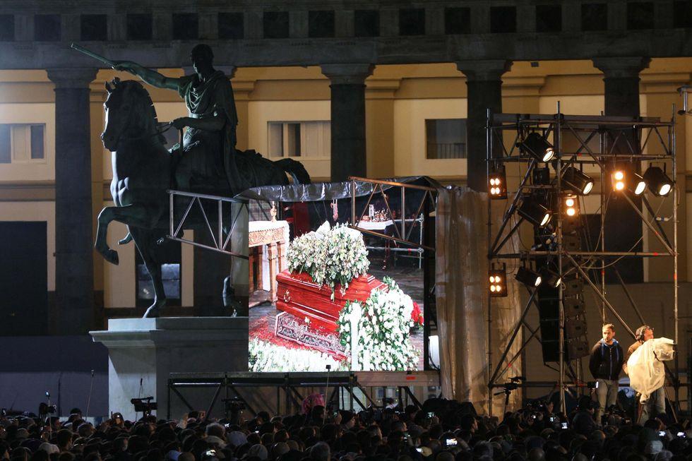 Addio a Pino Daniele: i funerali - Foto