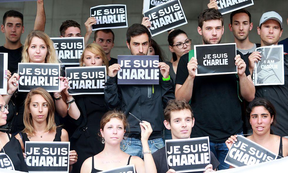 Je suis Charlie: la solidarietà a Charlie Hebdo nel mondo - Foto