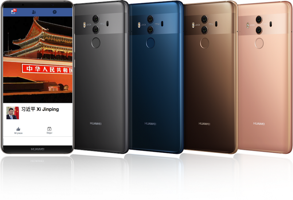 facebook huawei privacy
