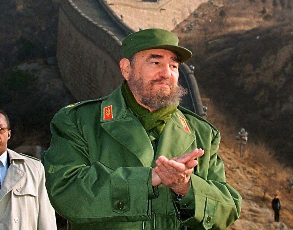 Fidel Castro in Cina