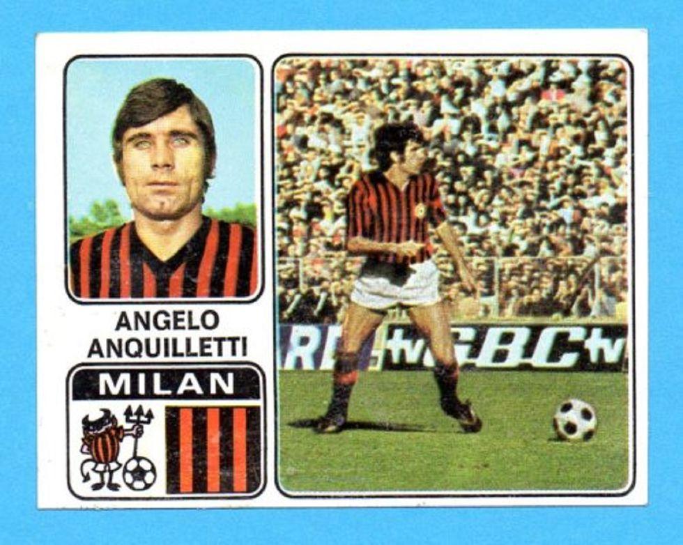 Lutto nel Milan, è morto Angelo Anquilletti