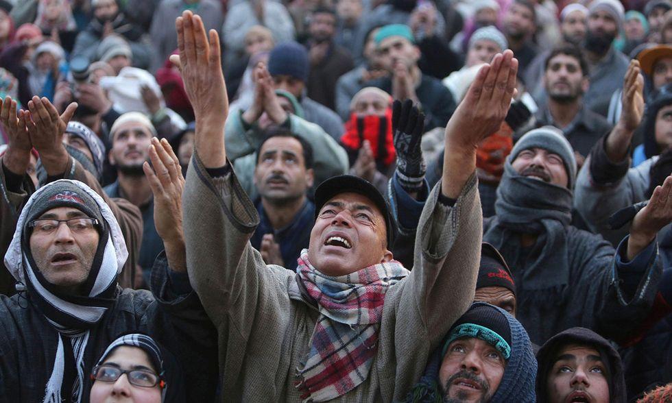 Kashmir, al santuario della reliquia di Maometto
