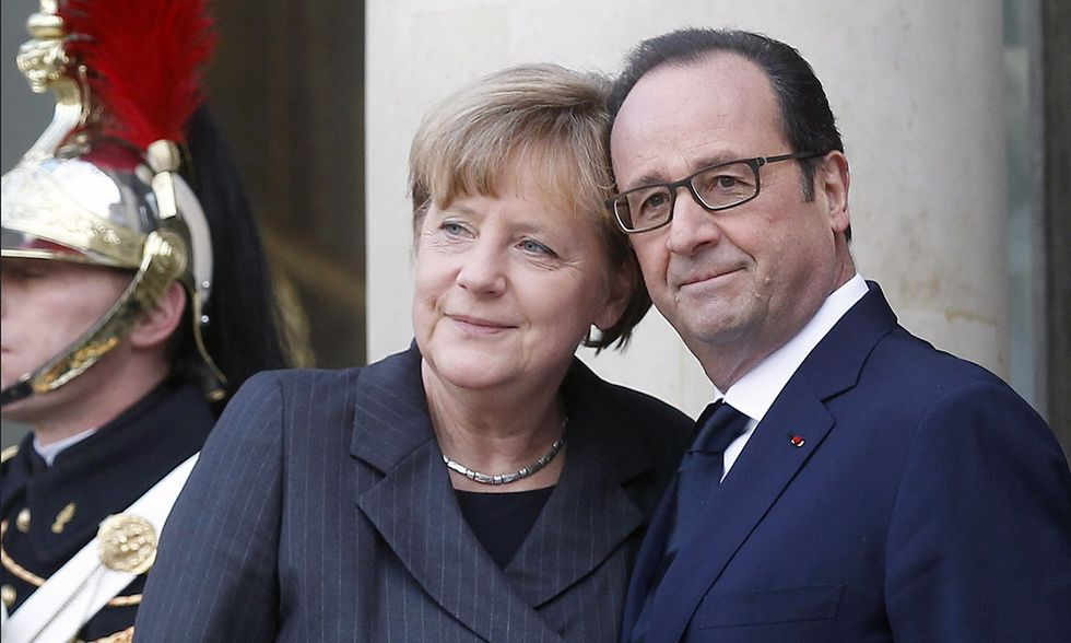 Le crepe di Merkel e Hollande