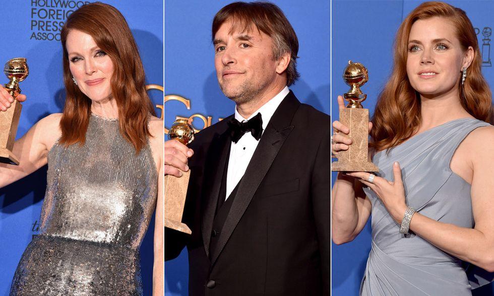 Julianne Moore, Richard Linklater, Amy Adams