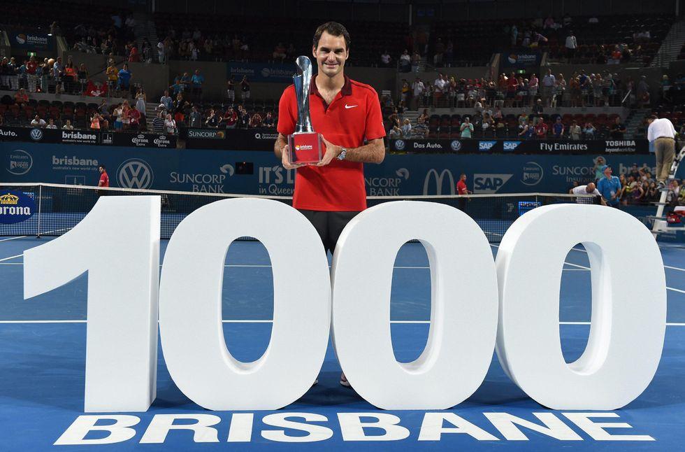 Federer fa 1000 vittorie. I successi più belli della carriera