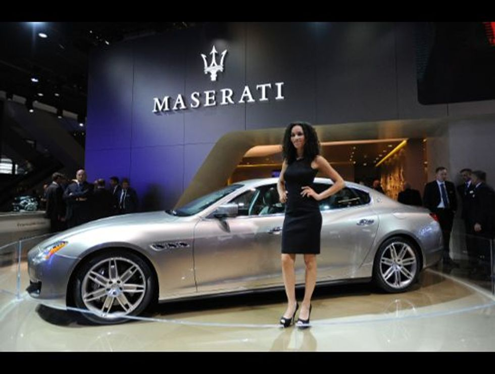 "Maserati Quattroporte, an Italian car with a ""special"" style"
