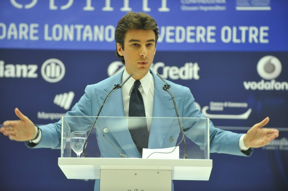The italian leader of young businessmen: Make way for youth